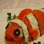 Салат » Рыба клоун» или «Мой любимый Немо»
