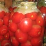 Зимний сюрприз — Консервированные помидоры