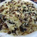 Салат из мяса и орехов