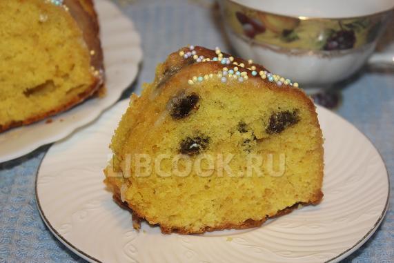 Апельсиново-лимонный кекс