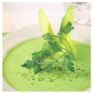 Суп с авокадо