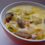 Суп картофельный с тмином