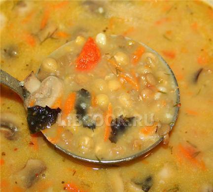 Суп из лосося.