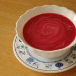 Мясной суп со свеклой