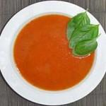 Томатный суп-пюре с грудкой