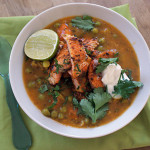 Индийский суп с морепродуктами