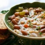 «Марузарро» суп из осьминога и красной фасоли