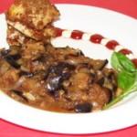 Овощное рагу с грецкими орехами