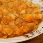 Овощное рагу в томате