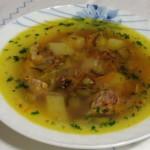 Рисово-говяжий суп