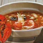 Суп из рака с белугой