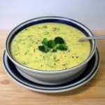 Сырный суп с фасолью и редиской