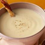 Сырный суп с молоком и рисом