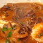 Тунисский суп из осьминога