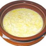 Суп молочный с макаронами