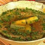 Китайский суп из утки