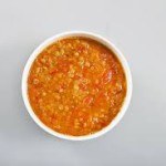 Сырный суп с чечевицей и томатами