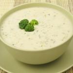 Сырный крем-суп из цветной капусты