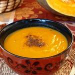 Тыквенный суп-пюре с мясом индюшки