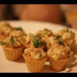 Омары с тарталетками