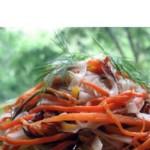 Фунчоза с овощами в китайском стиле