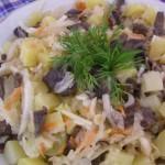 Салат «Минский»