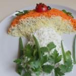Салат "Осенний гриб"