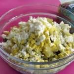 Салат «Рисовый с ананасом»