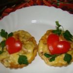 Салат «Романтичный» с курицей