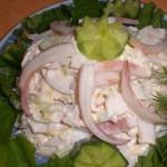 Салат «Вкусненький»