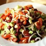 Техасский салат с авокадо