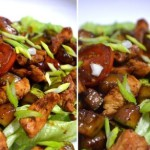 Теплый салат «Терияки»